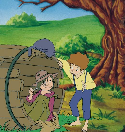 Dessins animes - Coloriage tom sawyer ...