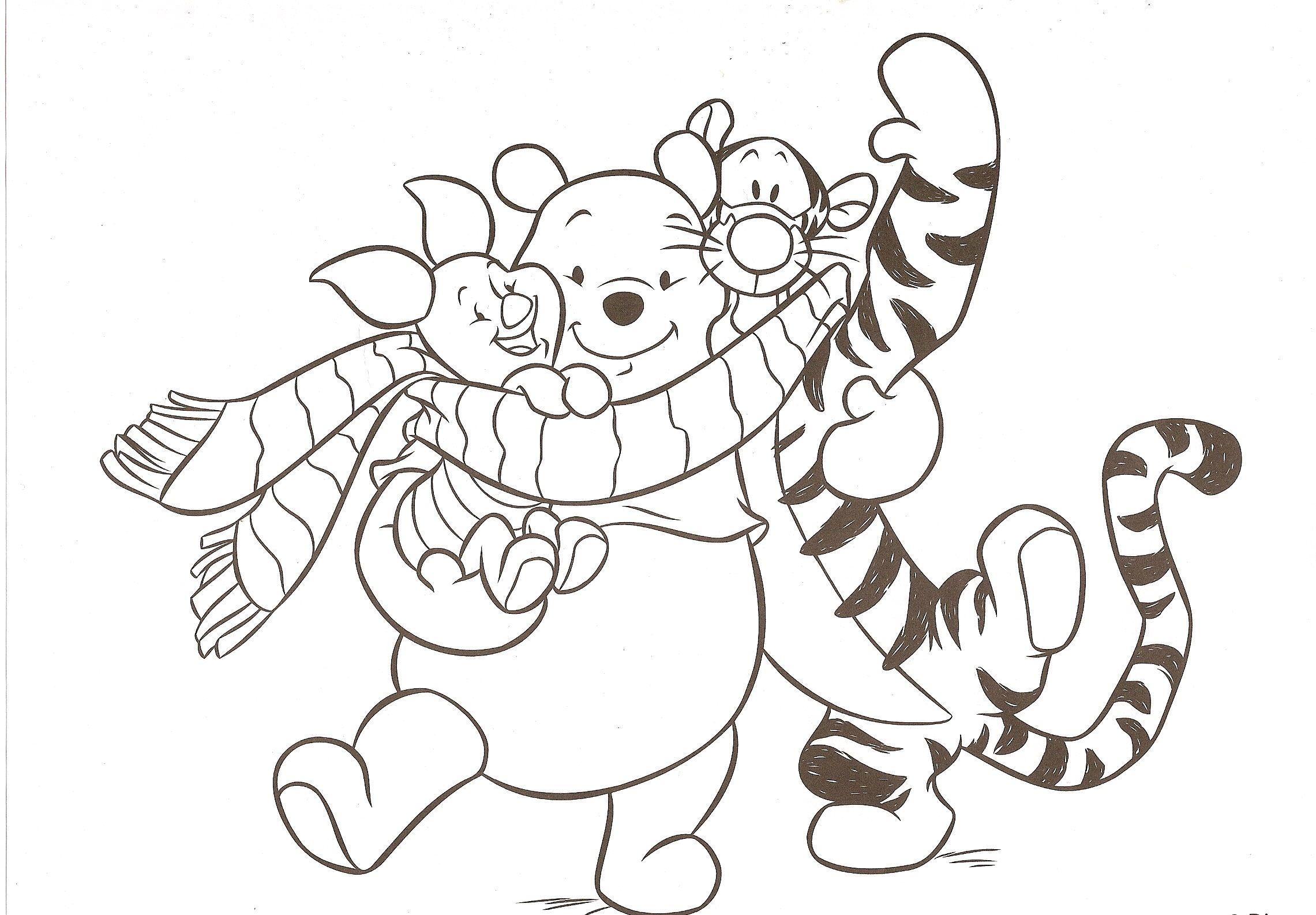Coloriage disney winnie - Winnie dessin ...