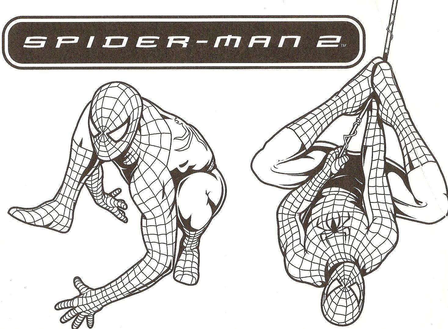 Spiderman a colorier spiderman colorier - Coloriage petit spiderman ...