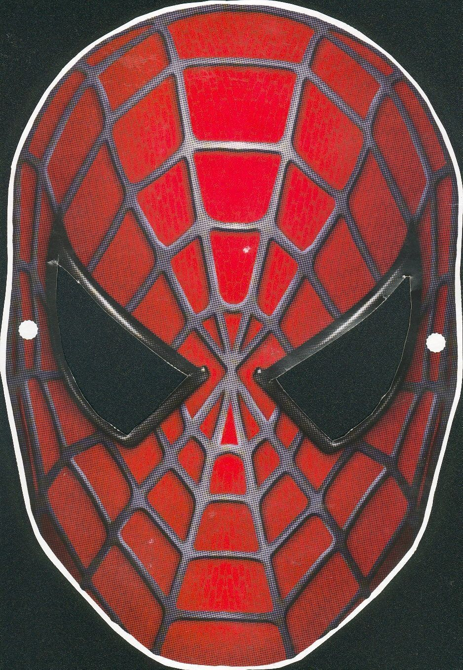 Comment coudre un masque spiderman - Masque spiderman a imprimer ...